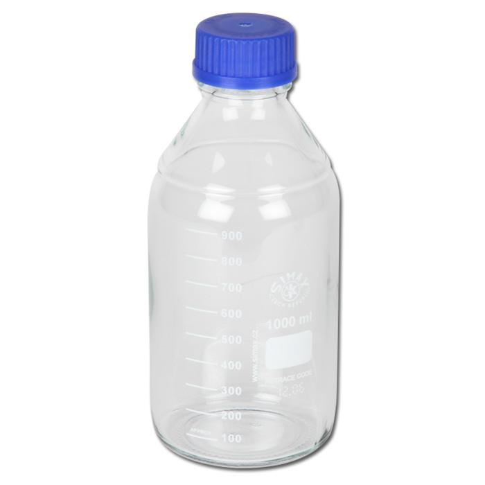 Probenflasche - Glas - für Profi Sampler - 100-1000 ml