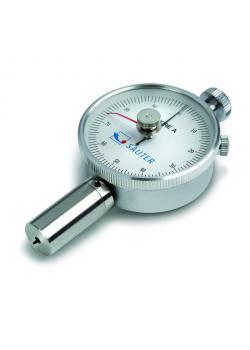 Shore duromètre - Shore A, D ou A0 - max. Plage de mesure 100 HA, HA0 100 ou 100 HD