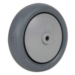 Reservhjul - fälg PP - hjulbana gummi - kullager - till 110 kg