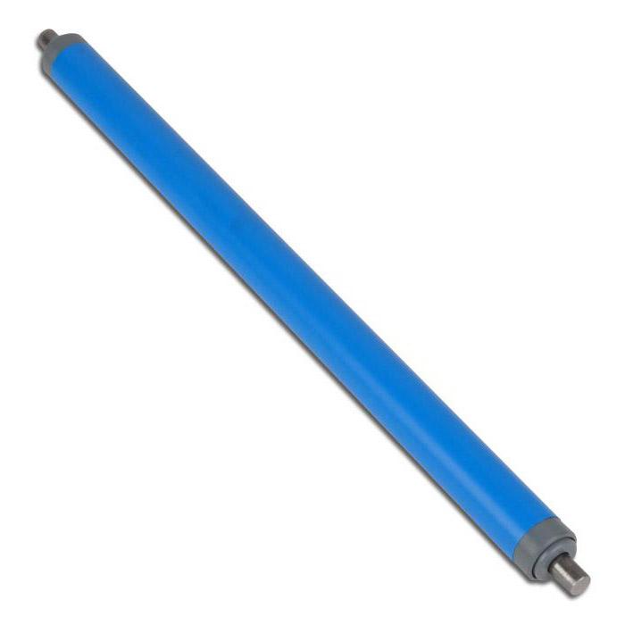 Transportrulle - Plast - Ø 20 mm med fjäderaxel Ø 8 mm
