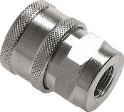 """Koppling utan ventil - för tvättmaskinslangar - G 3/8"""" invändig gänga"""