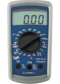 Digital-Multimeter  - bis 400 °C Spannung 2 V bis 600 V
