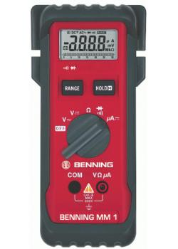 "Digital-Multimeter - MM1 ""BENNING""-CAT lll 600V DC  0,1µA bis 3,2mA"