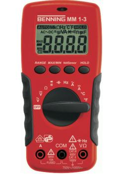 "Digital-Multimeter MM1-3 - ""Benning"" AC/DC - bis 20 MOhm"