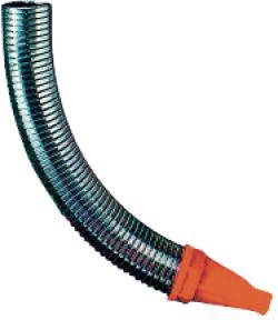 """Utloppsrör """"PRESSOL"""" - flexibel - metall - längd 300 mm"""