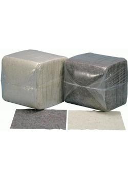 Putztuch dunkelbunt und rohweiß - Zugeschnitten 38 x 38 cm - Material Baumwolle - Gewicht 10 kg - VE 350 Stück - Preis per Pack