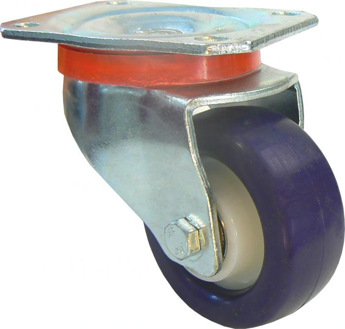 Lenkrolle - Polyamidrad - Rad-Ø 80 bis 250 mm - Bauhöhe 108 bis 297 mm - Tragkraft 130 bis 500 kg