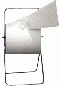 Putzpapier - perforiert lösungsmittelbeständig weiß - 1000 Blatt/Rolle