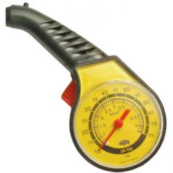 Reifendruckprüfer manuell - Skala 10-75 Psi / 0,5-5,5 kg/cm²