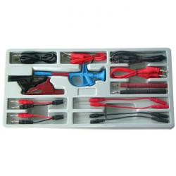 Measuring cable and accessories range - 15 pieces