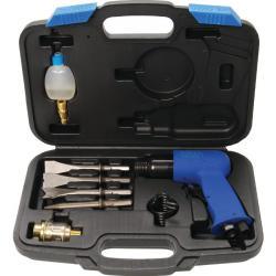 """Pneumatisk chipping hammer Set """"BGS"""" - Driftstrykk 6-7 bar - 8 stk."""