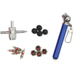 Reparatursatz - für Reifenventile - 14-teilig