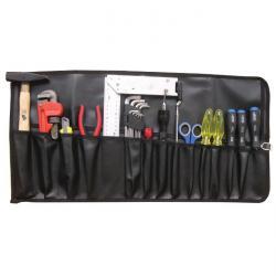 """Werkzeug-Rolltasche """"BGS"""" - mit 15 Fächern - Maße 660 x 320 mm"""