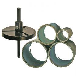 "Fliesenlochbohrsatz ""BGS"" - 6-tlg. - Durchmesser 33-73 mm"