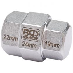 """Motorcycle special insert inside hexagonal sizes 19, 22, 24 mm """"BGS"""""""