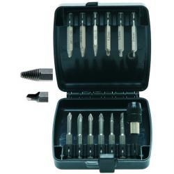 Screw head extractor - bit set - 13 pieces