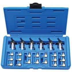 Adaptersatz - für Injektorrücklauf-Messgerät BGS 8101