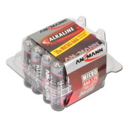 "Alkaliskt batteri ""Röd"" - Blue Bird - AAA - 20 Blister"