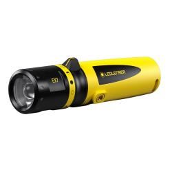 Ledlenser EX7 - light range 70 to 120 m - lighting duration 7 to 45 hours - 3x Mignon (AA) 1.5V