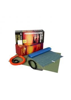Fußbodenheizungs-Set für Laminat - 160 W/m² - inkl. Thermostat OTD4