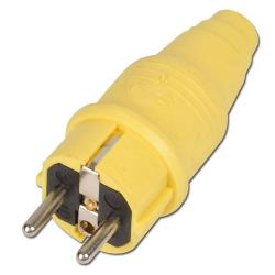 "Safety plug ""type BS"" - rubber - IP 44 - 230"