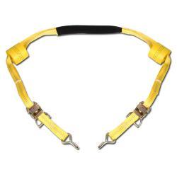 Spännband för motorcykel - För styret - Färg Gul