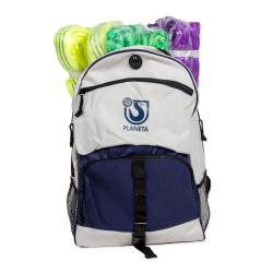 Lyftstroppar i väska - 10 delar - 7 X säkerhet - polyester