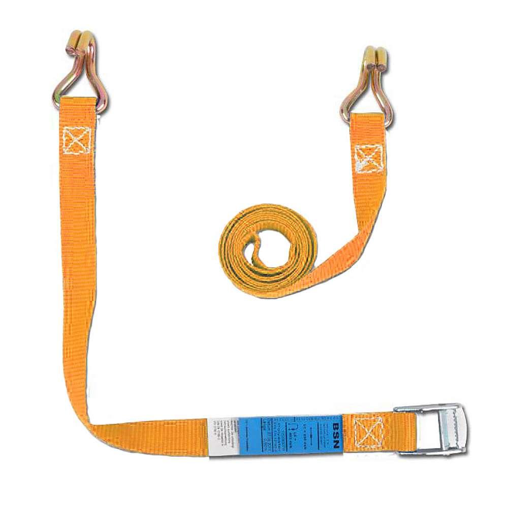 Spännband - 2-delade - bredd 25 mm - 200 daN - med klämlås
