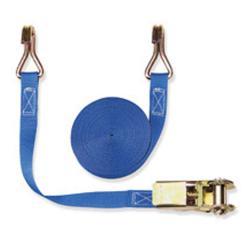 Cinghia di fissaggio - due parti - larghezza 25 mm - 400 daN - con cricchetto