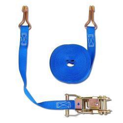 Cinghia di fissaggio - due parti - larghezza 25 mm - 500 daN - con cricchetto