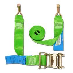 Cinghia di fissaggio - due parti - larghezza 50 mm - 500 daN con cricchetto