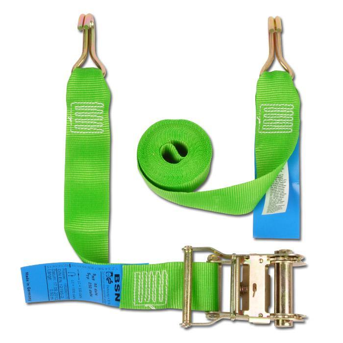 Spännband - system 500/50 - 2-delad - till 500daN - bandbredd 50mm