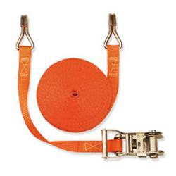 Cinghia di fissaggio - due parti - larghezza 25 mm - 750 daN - con cricchetto