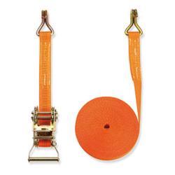 Cinghia di fissaggio - due parti - larghezza 35 mm - 1500 daN - con cricchetto