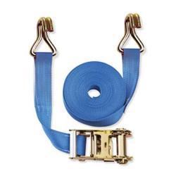 Cinghia di fissaggio - due pezzi - larghezza 50 mm - 1500 daN - con cricchetto