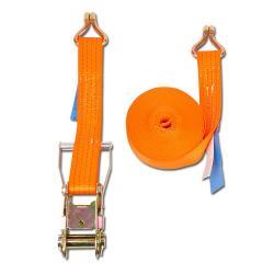 Cinghia di fissaggio - due parti - larghezza 50 mm - 2000daN - con cricchetto