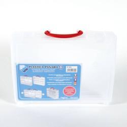 Kombikasten - Polypropylen - leer - transparent