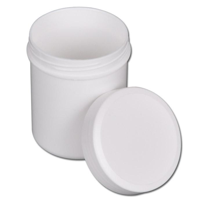 Schraubdose - Inhalt 12 bis 1000 ml - Ø 25 bis 102 mm - Farbe weiß