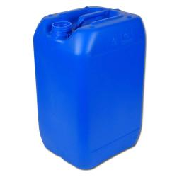 Industry series 353 HDPE canister - blue - without closure