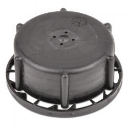 Restpoten - Schraub-Verschluss - Serie 353 - für Kanister Vol.  l - schwarz - HDPE - mit Abreissring und Entgasung