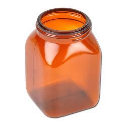 """Restposten - Labor-Flasche - """"Serie 310"""" - Volumen 200 ml - braun - PVC - ohne Verschluss"""