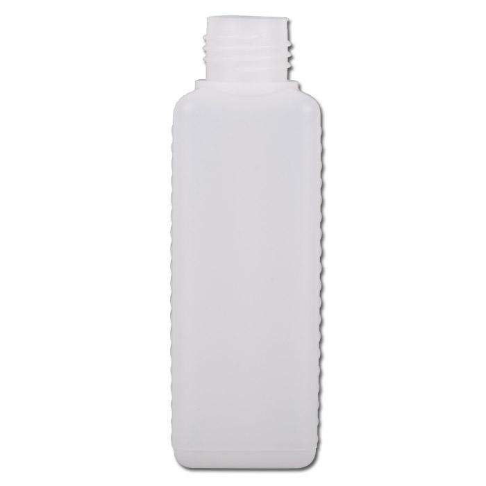 Weithalsflaschen Serie 310 HDPE - natur - vierkantig ohne Verschl.