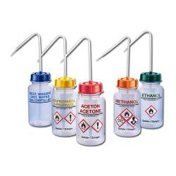 Bottiglia a spruzzo a collo largo serie 303 LDPE - con stampa merce pericolosa