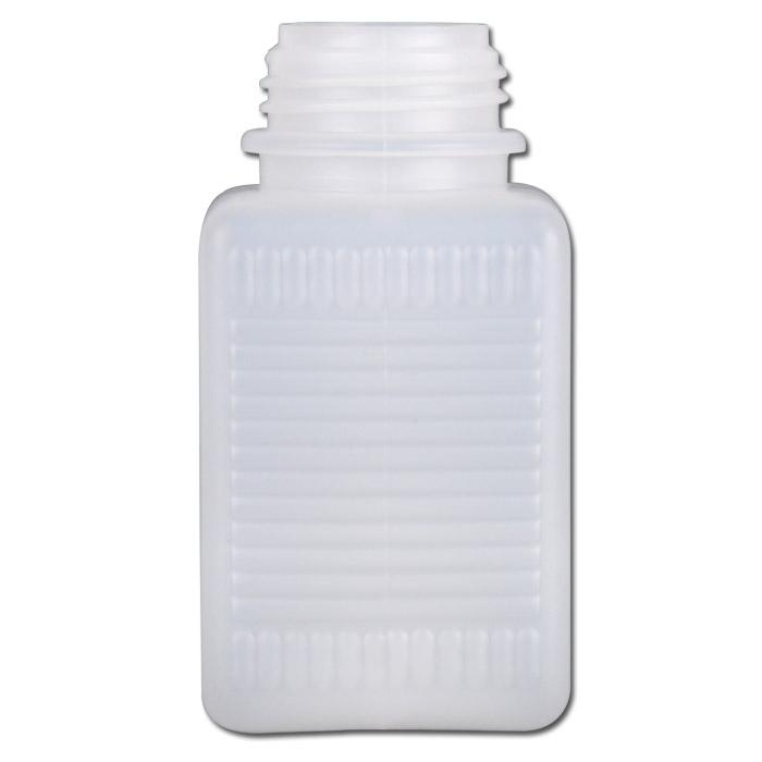 Wide-mun flaskor serie 310 HDPE - kvadrat utan tillslutning
