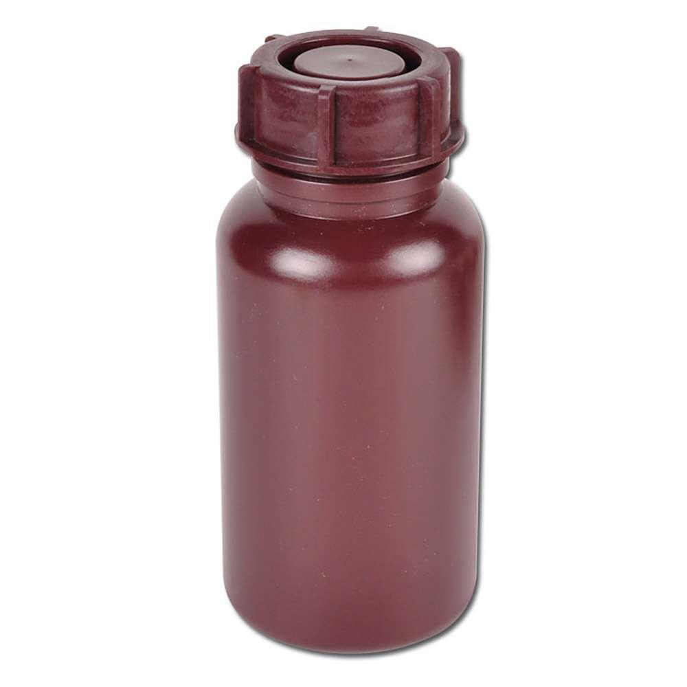 Bredhalsad flaska - serie 303 LDPE - med lock