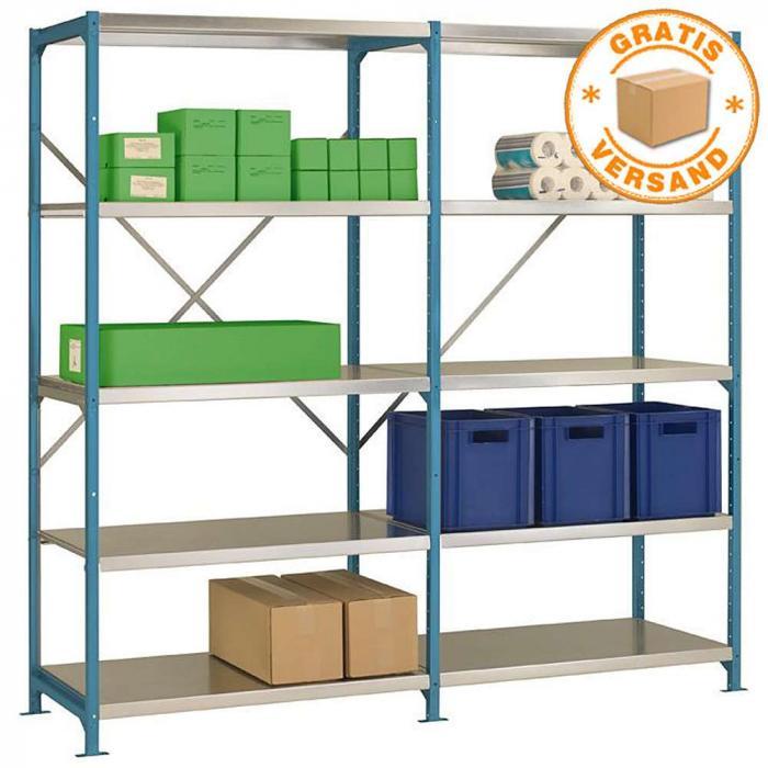 Rack di stoccaggio plano flex standard altezza 2 m 5 for Piani di progettazione di stoccaggio garage