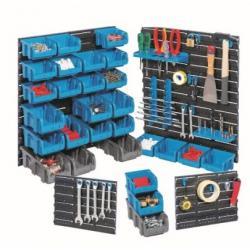 Starter-Set Endloswand  Store Plus P 55 -  23 Halter/Haken - 28 Sichboxen - erweiterbar