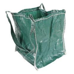 """Schüttgutbehälter """"Mini BIG-BAG"""" - PP - 300kg - 5:1 Bruchlast - 40 x 40 x 45 cm - grün"""
