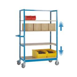 "Moibile Shelving ""Varimobil"" - 4 Shelves - Load Capacity 250kg - Height 1650mm"