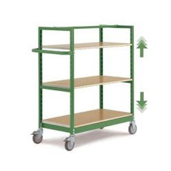 "Mobile Shelving ""Varimobil"" - 3 Shelves - Load Capacity 250kg  - Height 1250mm"